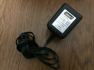 リチャージャブルクイックポンプ充電器 コールマン