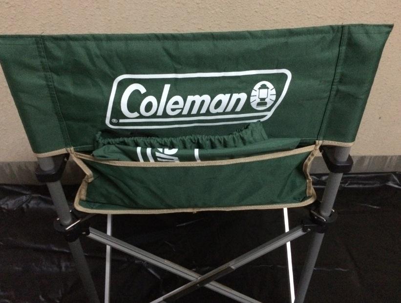 スリムキャプテンチェア グリーン コールマン(Coleman) ケースを収納