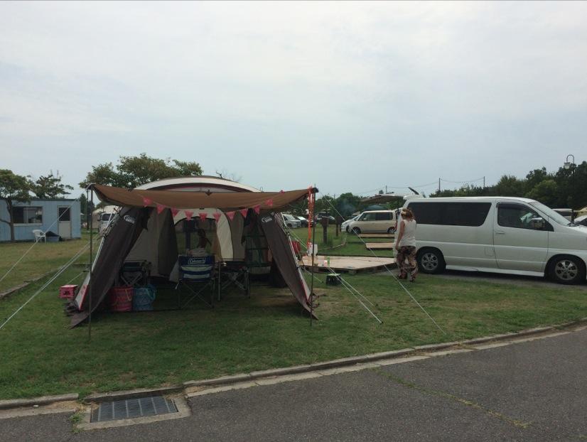 舞洲アーバンオートビレッジキャンプ場