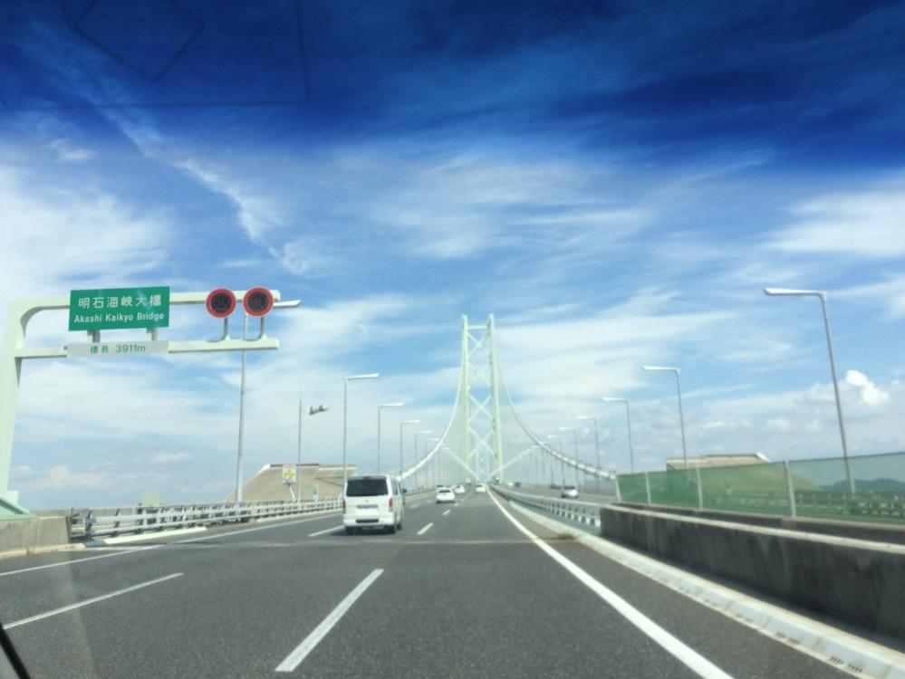 淡路 じゃのひれオートキャンプ場 明石海峡大橋