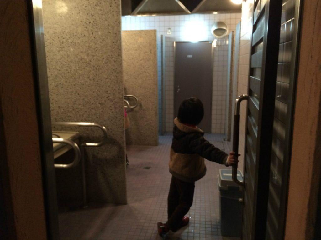 赤穂海浜公園オートキャンプ場 トイレ