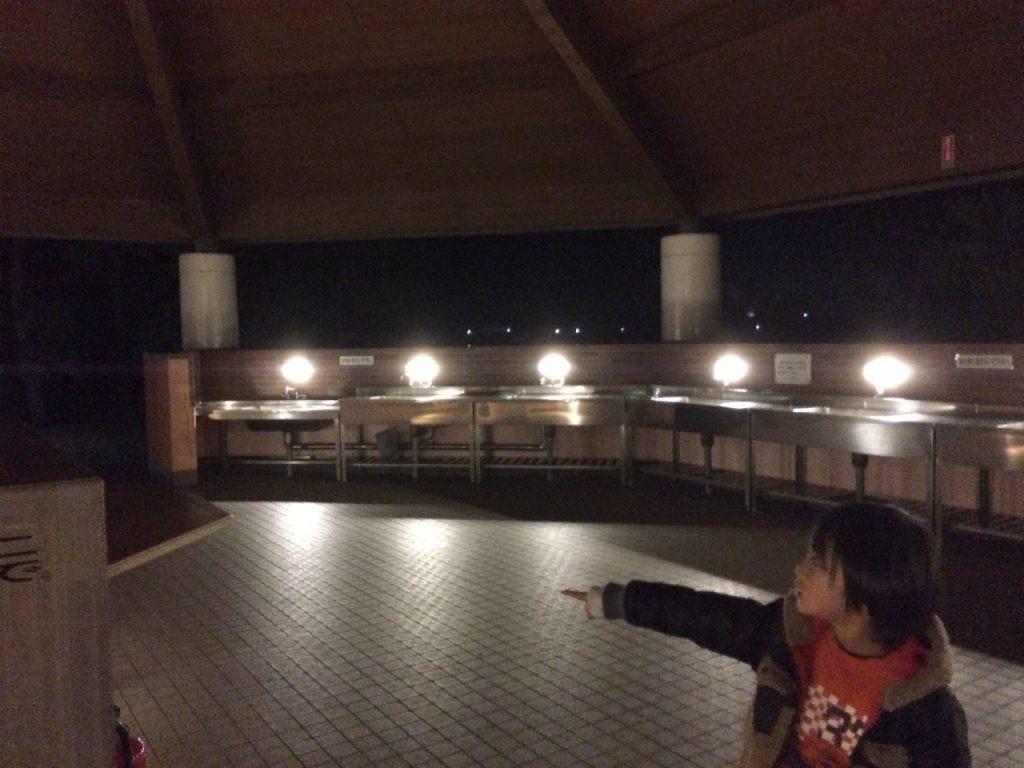 赤穂海浜公園オートキャンプ場 炊事棟