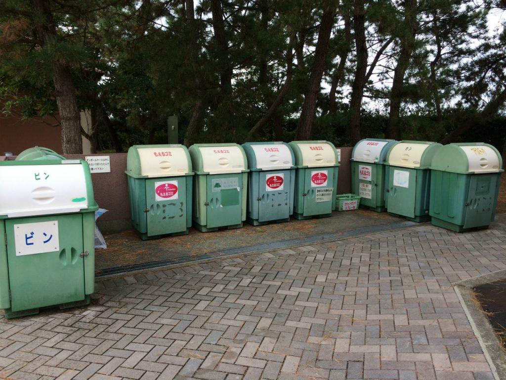 赤穂海浜公園オートキャンプ場 ゴミ捨て場