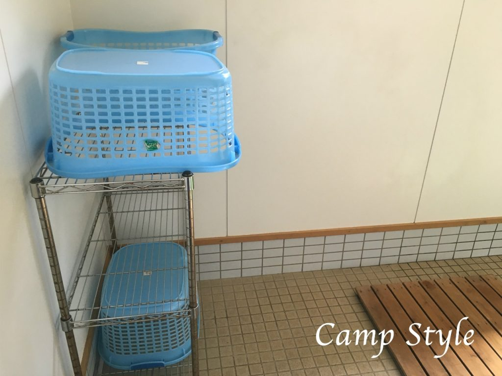 新田ふるさと村 シャワー室